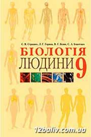 ГДЗ Біологія 9 клас С.В. Страшко, Л.Г. Горяна, В.Г. Білик, С.А. Ігнатенко (2009). Відповіді та розв'язання