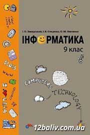 ГДЗ Інформатика 9 клас І.О. Завадський, І.В. Стеценко, О.М. Левченко (2009). Відповіді та розв'язання