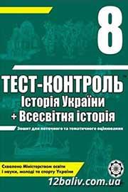 ГДЗ Історія України 8 клас В.В. Воропаєва (2011). Відповіді та розв'язання