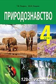 ГДЗ Природознавство 4 клас Т.В. Гладюк, М.М. Гладюк (2015). Відповіді та розв'язання