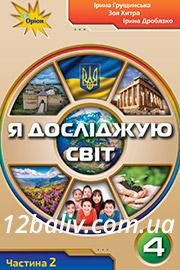 ГДЗ Я досліджую світ 4 клас І. В. Грущинська, З. М. Хитра, І. І. Дробязко (2021). Відповіді та розв'язання
